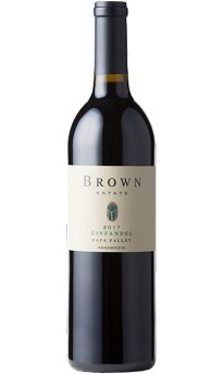 Brown Estate 2017 Zinfandel Napa Valley