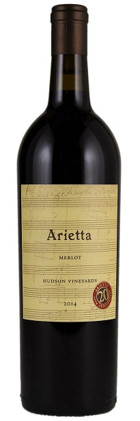 Arietta 2014 Hudson Vineyards Merlot Napa Valley