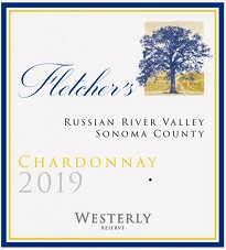 Westerly 2019 Fletcher's Chardonnay Russian River Valley