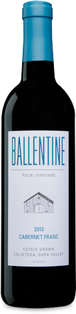 Ballentine 2015 Estate Cabernet Franc Pocai Vineyard Calistoga