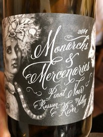 Wren Hop Vineyards 2015 Monarchs & Mercenaries Pinot Noir Russian River Valley