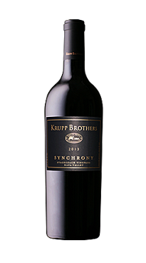 Krupp Brothers 2013 Synchrony Stagecoach Vineyard Napa Valley