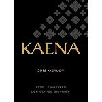 Kaena 2016 Estelle Vineyard Merlot Santa Ynez Valley